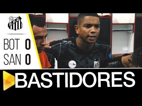 Botafogo-SP 0 x 0 Santos | BASTIDORES | Paulistão (18/03/18)