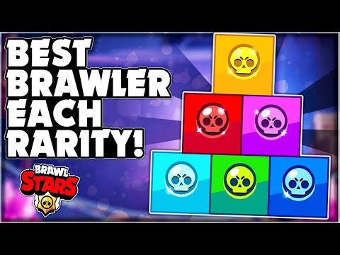 BEST Brawler For EACH RARITY! - Brawler Ranking! + Showdown Gameplay! - Brawl Stars