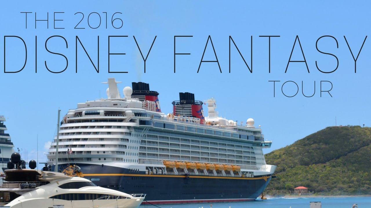 The Disney Fantasy 2016 Tour Youtube