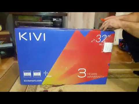 Моя расспаковка! Телевизор Kivi 32HB50GU/GR Gray