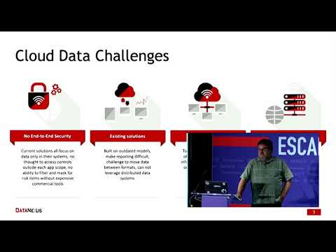 ESCAPE Conference 2019: Leveraging Hybrid Clouds -- Eddie Satterly, Amar.ai & DataNexus