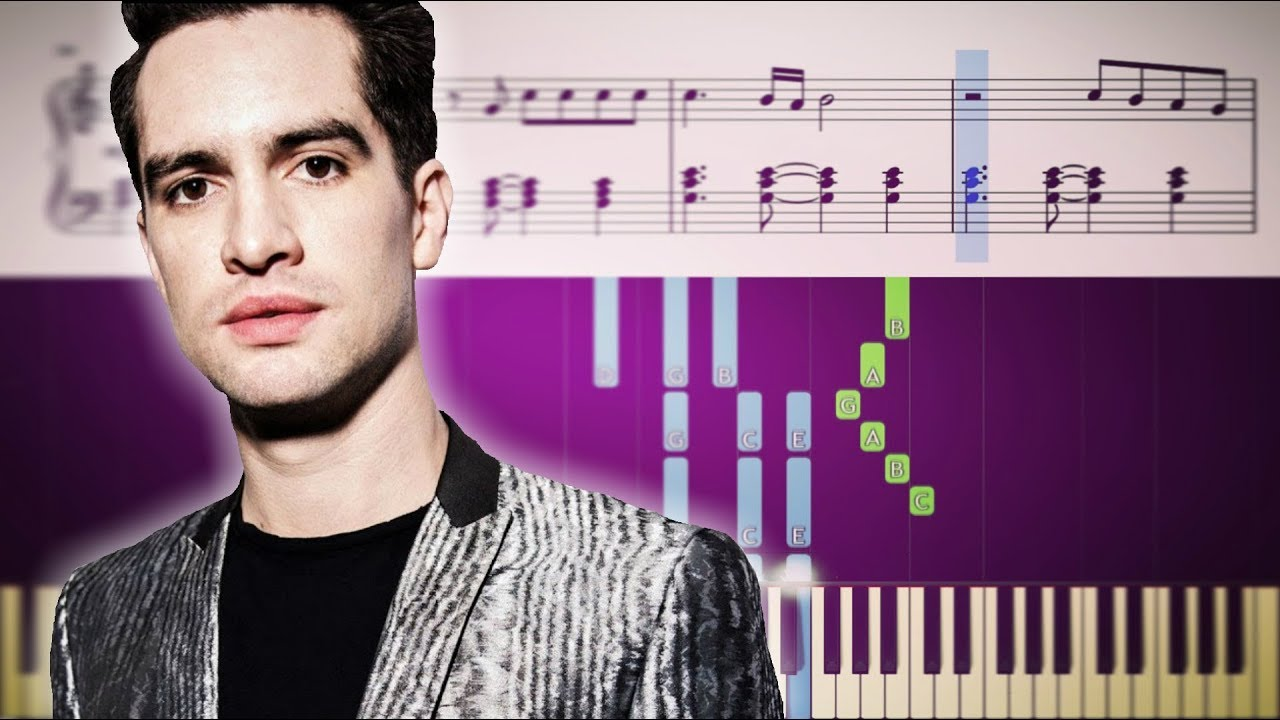 how to play panic at the disco songs on piano
