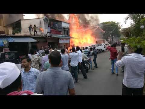 Indira Nagar Thane Fire