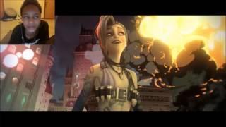 League of Legends Music: Get Jinxed REACTION | GET JINXED KID
