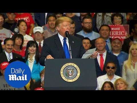 Trump shares the administration's economic record in Las Vegas