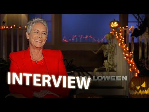 Jamie Lee Curtis  HALLOWEEN 2018  Exclusive