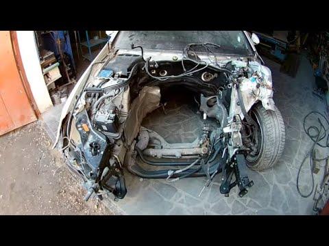 Mercedes Benz CLS кузовной ремонт в Армении/Body Repair In Armenia