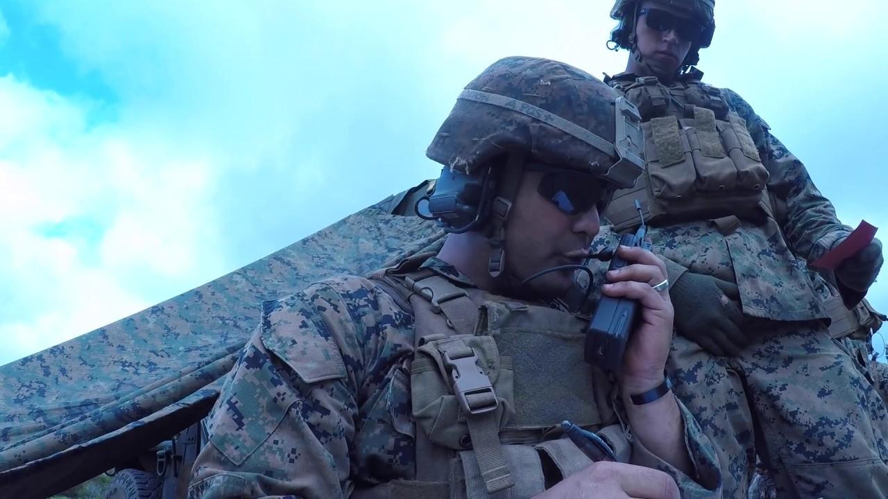 marines live fire m327 mortars osprey capability youtube