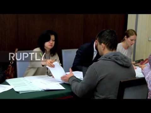 France: Russian nationals queue up at embassy to vote in State Duma elections