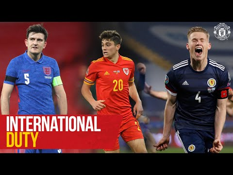 International Duty | Cavani, Maguire, Pogba, Van De Beek | Manchester United