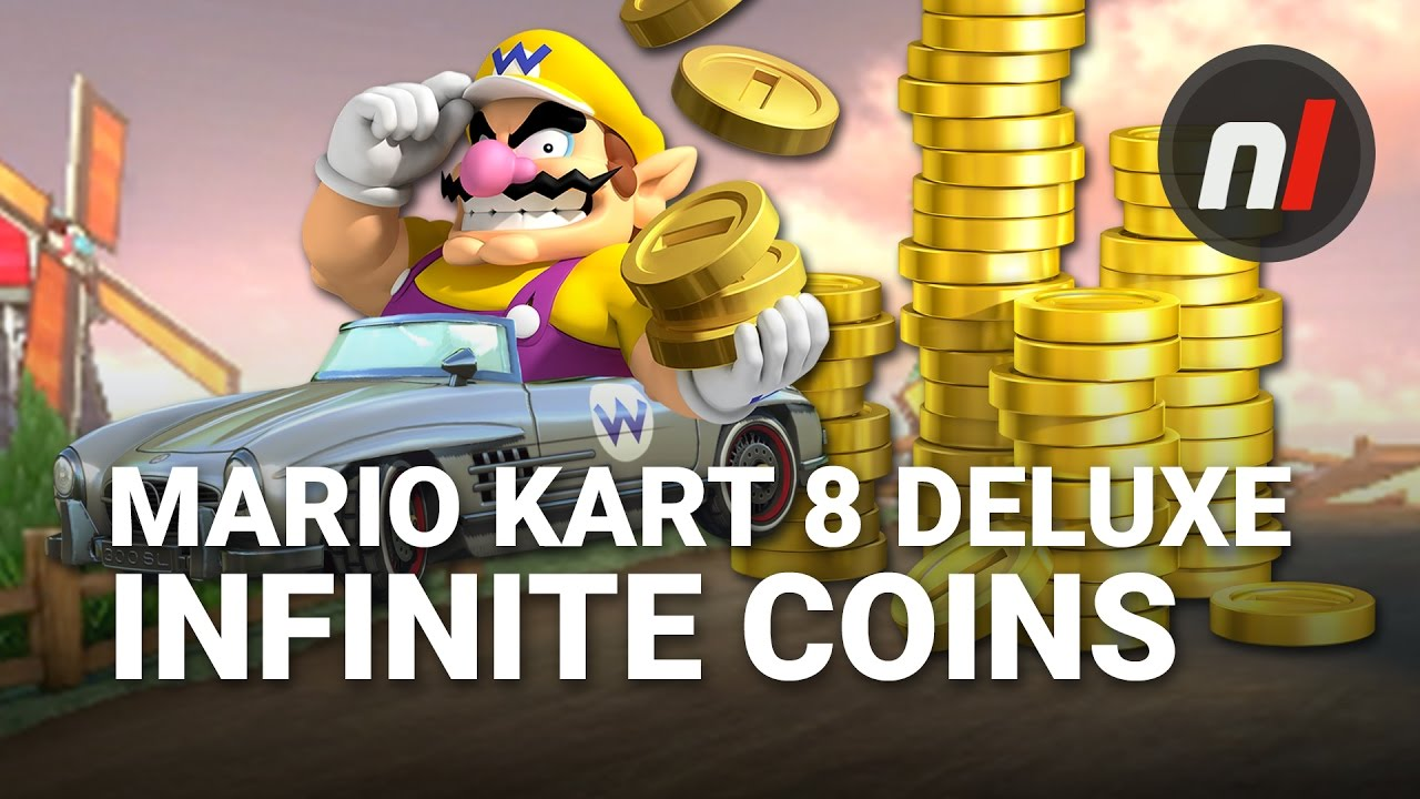 Mario Kart 8 coin farming made easy