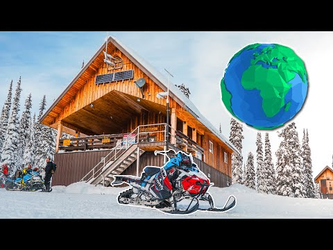 Best Place to Snowmobile in the World!
