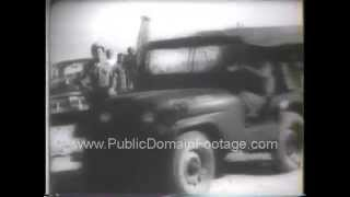 Middle East Crisis 1958 Lebanon -  West Moves Troops newsreel PublicDomainFootage.com