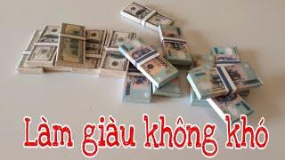 MÔ HÌNH TIỀN USD & VNĐ | MONEY USD & VNĐ