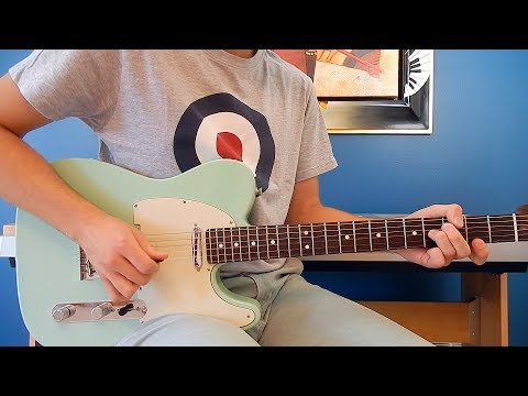 The Beatles - Dig a Pony - Guitar Cover - Lead and Rhythm Guitar