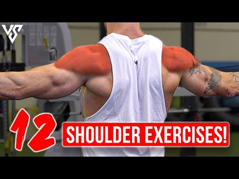 12 Best Shoulder Exercises for Boulder Shoulders