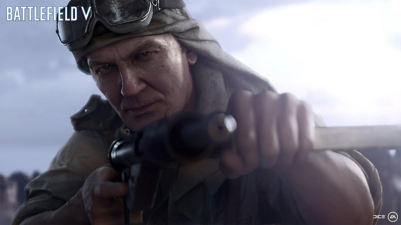 Новый трейлер Battlefield 5 посвятили одиночной кампании, которая должна стать самой необычной в истории серии