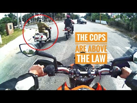 WHEN THE COPS BROKE THE LAW | BAD DRIVERS OF CHANDIGARH