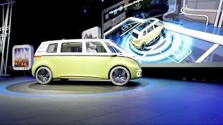 VW I.D. Buzz - Detroit Auto Show 2017 | auto motor und sport