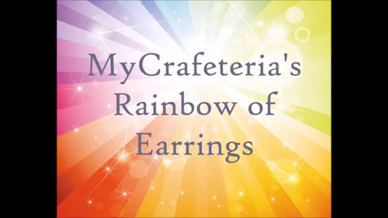 Nickel Free Allergy Safe Earrings Mycrafeteria A Rainbow Of Colorful