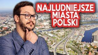 10 NAJWIĘKSZYCH Polskich Miast w każdym Województwie