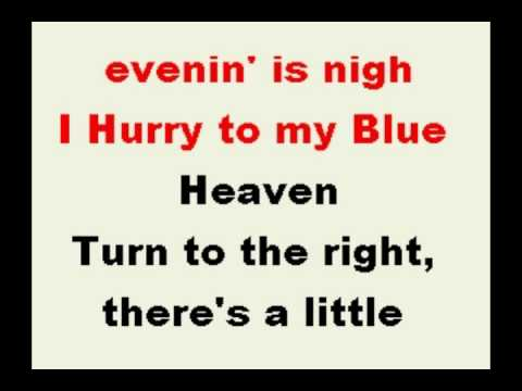 my blue heaven with vocals and ep