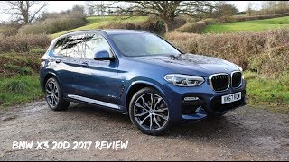BMW X3 20d M Sport G01 2017 Review