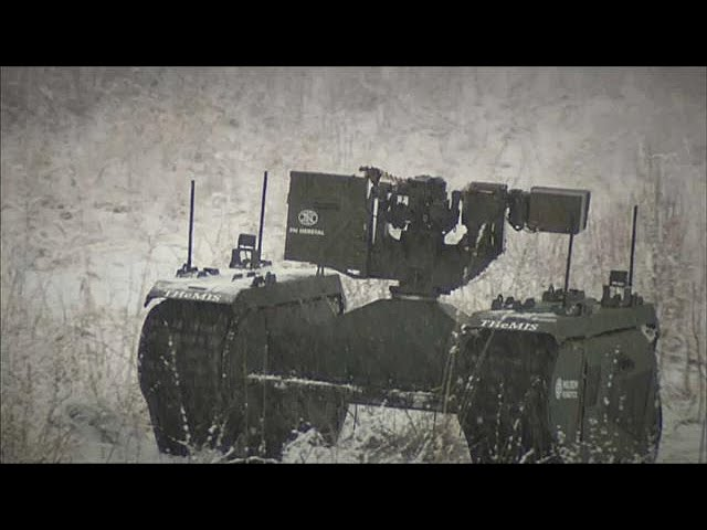 Estonian War robots are put through their paces