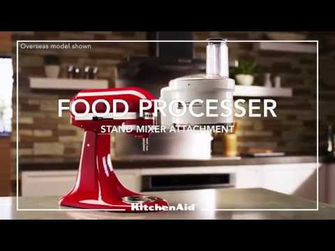 KitchenAid® Stand Mixer - Food Processor Attachment