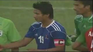 Sagar Thapa's terrific goal against Bangladesh!