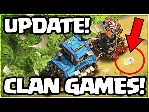 Clash of Clans UPDATE! CLAN GAMES are COMING!