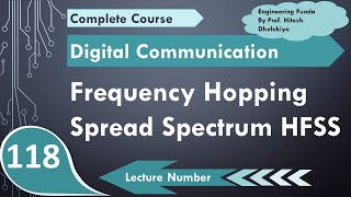 Frequency Hopping Spread Spectrum FHSS (Block Diagram, Working, Performance, Hoping & Applications)