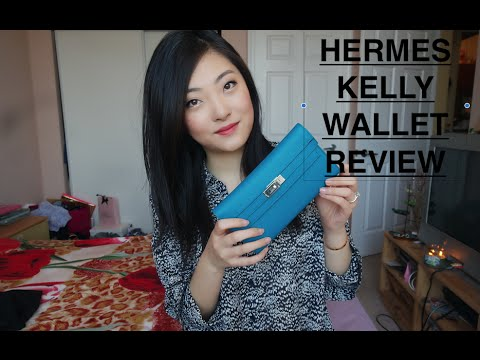 Hermes Kelly Wallet Review - YouTube