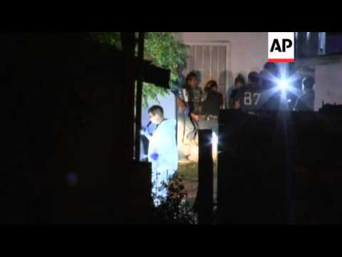 Ten people killed when gunmen burst into party at a private home