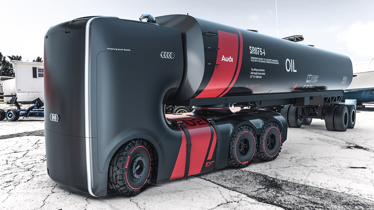 Audi Future Truck is Awesome - Concept Design