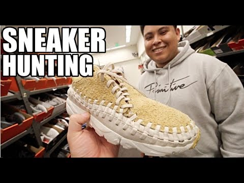 SNEAKER HUNTING IN OUTLETS RETURNS!