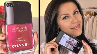 ♥ Win-actie Instagram - Win een Chanel Iphone case!! Thumbnail