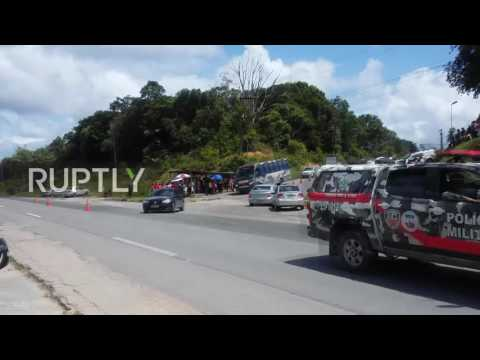Brazil: Brazilian police start major operation to recapture escaped Manaus inmates