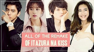 Video All of Remakes Of Itazura na Kiss download MP3, 3GP, MP4, WEBM, AVI, FLV November 2019
