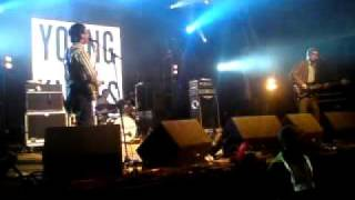 The Young Knives New Song, at YNF 09