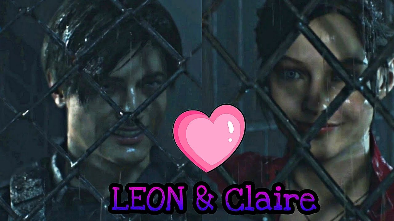 Resident Evil 2 Remake Leon Flirting With Claire Scene Retro