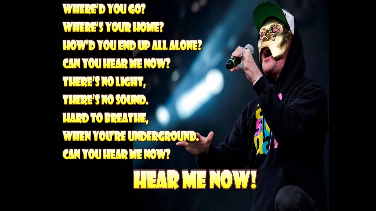 Hollywood undead hear me now скачать песню.