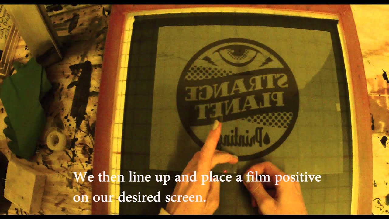 Quick Screen Printing Tutorial: T-shirt Printing From Start to ...