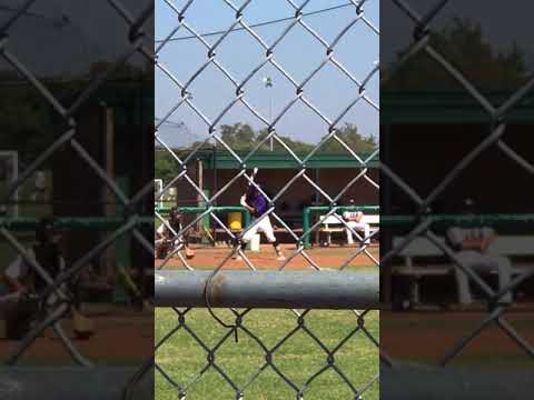 J.T. Barnes Outfielder/Pitcher @ Mountain View College - In-Game Hitting Video