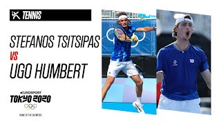 STEFANOS TSITSIPAS vs UGO HUMBERT   Tennis - Highlights