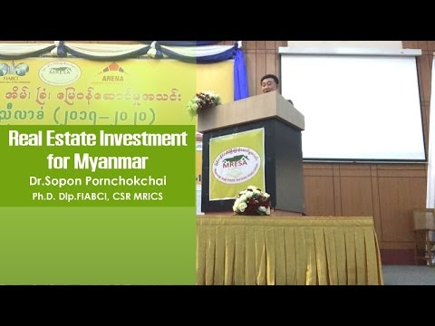 Real Estate Investment for Myanmar