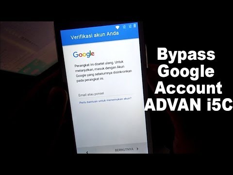 Cara Bypass Google Account Advan I5 I5a I5c I5e I55 Youtube