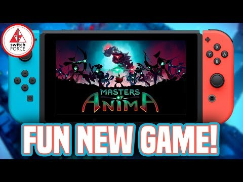 Masters of Anima Switch Gameplay - Fun New Game!