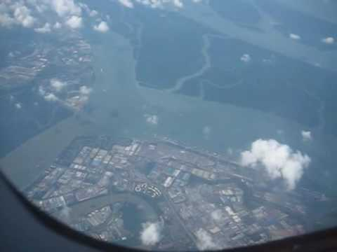 Port Klang from above