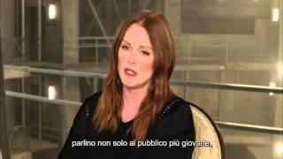 Hunger Games: Il Canto della Rivolta - Parte 2 - Intervista a Julianne Moore | HD